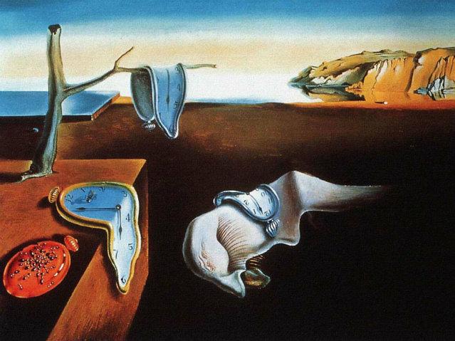 Persistence of memory . Dalì, 1931